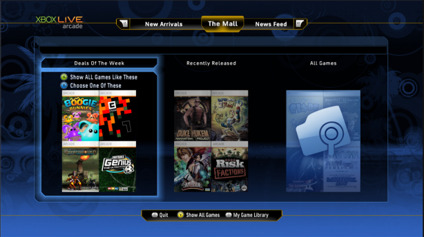 Destination Arcade: New Xbox 360 Visual Viewer For Arcade Games